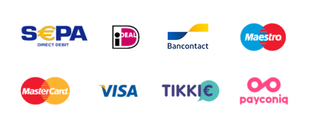 Twikey Payment methods